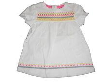 NEU Dopodopo tolles Shirt / Hängerchen / Kleid Gr. 68 weiß mit tollen Motiven !