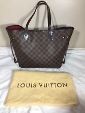 Louis Vuitton Authentic Neverfull MM Damier EbeneTote / Bag