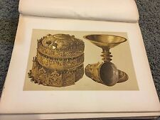 Crown and Chalice from Abyssinia 12 X 16 Antique Print high quality