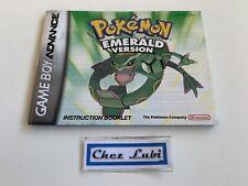 Notice - Pokémon Emerald Version - Nintendo Game Boy Advance GBA - NTSC USA