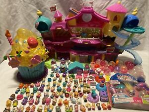 Squinkies Mansion Surprise Cupcake Disney Princess Animals Barbie Cinderella Lot