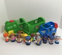 Fisher Price  Little People Mixed Lot With Train