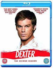 Dexter Complete Series 2 Blu Ray All Episodes Second Season Original UK Release