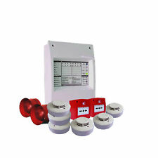 Fire Alarm System - 2 Zone Conventional Contractor Pack - Panel, Sounders, MCP