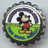 Disney WDW Soda Pop Series Mickey's Swell Soda Pin