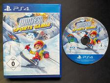 Winter Sports Games · Sony Playstation 4 PS4 · in OVP · Neuwertig
