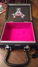 Vintage Wood Cigar Box Purse Monte Cristo