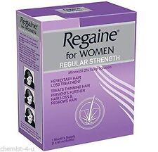 Regaine Hair Loss Red