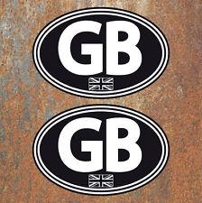 GB Union Jack stratificato ADESIVI 130x90mm AUTO FURGONE CAMPER SCOOTER VESPA Decalcomanie