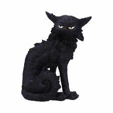 More details for new salem black cat witches familiar figure cat gift statue 19cm