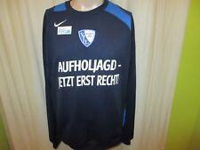 """VfL Bochum Nike Freizeit Sweatshirt/Pullover """"AUFHOLJAGD JETZT ERST RECHT"""" Gr.XL"""