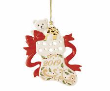 Lenox 2019 Joyous Tidings Stocking Ornament