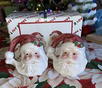 Vintage Christmas Around The World House of Lloyd Santa Seasoners W/Box