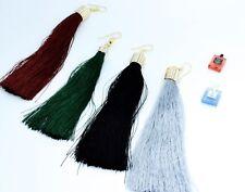 Ladies Vintage Style Fashion Long Tassel Indian Bollywood Dangle Stud Earrings