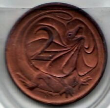 1975 Two Cent coin - Uncirculated - Taken from Mint Set