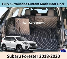 Subaru Forester 2018-2020 Custom Made Trunk Boot Mats Liner Cargo Mat Cover