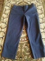 Ann Taylor Loft Womens Pants JULIE Fit The Riviera Pant SZ 8 BLUE EUC CUTE