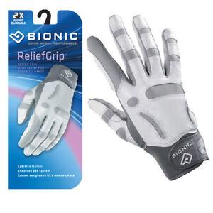 Bionic Golf Glove - ReliefGrip - Womens Right Hand Arthritic Protection-MEDIUM