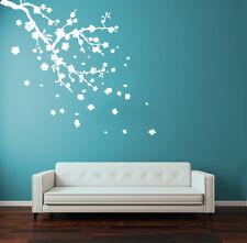 Wall Decal Vinyl Sticker Flower Blossom Sakura Cherry Branch  R1322
