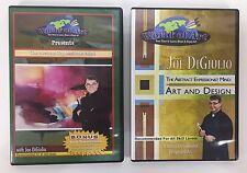 World of Art Abstract Expressionist Mind Joe DiGiulio 2 DVD Acrylic Paint Design