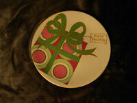 Royal Norfolk HAPPY HOLIDAYS Holiday PLATE Dessert Cookie Small Tray