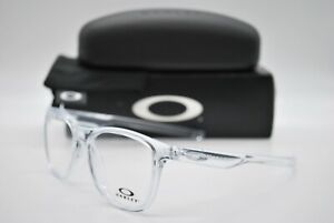 NEW OAKLEY OX8130-0352 RX TRILLBE X CLEAR AUTHENTIC EYEGLASSES FRAME RX 52-18