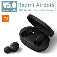 Bluetooth 5.0 TWS Xiaomi Redmi Airdots Headset Earphone Headphone Stereo Earbuds