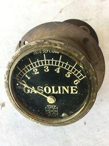 OLD SPEEDSTER US GASOLINE PRESSURE GAUGE 1918 1919 1920 1921 1922 1923 1924 TROG