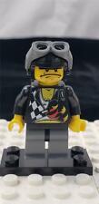 LEGO Bubba Backyard Blaster 2 Minifigure wr006 Aviator Cap World Racers 8899