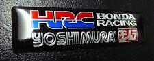 HRC Exhaust Sticker Decal CBR CBX CBF VTR VFR RVF NSR Parts 400 600 1000