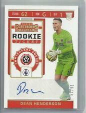 2019-20 Chronicles Soccer DEAN HENDERSON Contenders RC Ticket Auto 57/99