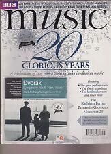 BBC MUSIC MAGAZINE Sept 2012, + FREE CD, 20th SPECIAL BIRTHDAY ISSUE! 1992-2012