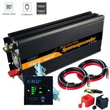 Convertisseur 24v 220v pur sinus 3500W 7000W transformateur dc ac onduleur USB