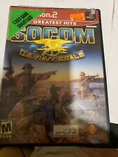 SOCOM: U.S. Navy Seals Red Label disc and case only PS2