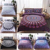Boho Quilt Cover Set Mandala Bedding Sets Indian Bedding soft Duvet Cover sets