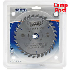 Draper 09462 Circular Saw Blade 140mm Diameter 20mm Bore 30T 13 16mm Ring