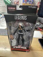 Marvel Legends Black Cat Action Figure . Spider-man wave Kingpin BAF arm & cane.
