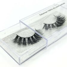 Siberian High Quality Luxury 100% Mink False Eyelashes  3D Mink Eyelash A11