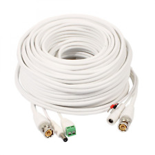 uxcell 20M BNC DC Video Power RS485 Control Cable Wire for CCTV Security HD Came