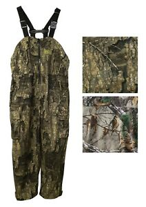 FroggToggs Dead Silence Bib Overalls Brushed Camo Waterproof Hunting Gear