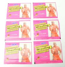WCW Wrestling Sticker collection EUROPE Exclusive EURO FLASH 6 X Packages 1992