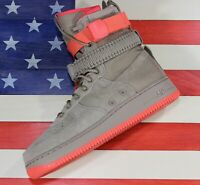 Nike Special Field Air Force 1 One SF High Shoes Khaki Brown Boots [884024-205]