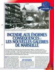 Fire Incendie Nouvelles Galeries de Marseille Sapeurs Pompiers FICHE FIREFIGHTER