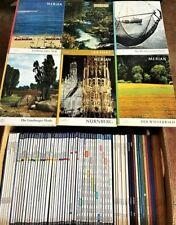 75 MERIAN Hefte aus den Jahren 1962-2014 mit Liste Reise Zeitschrift Sammlung Pa