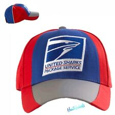 "SPRAYGROUND HAT USPS ""UNITED SHARKS PACKAGE SERVICE"" Limited Edition / 💥NEW"