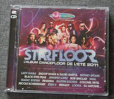 Starfloor 2011, lady gaga britney spears bob sinclar rihanna ect ..., 2CD