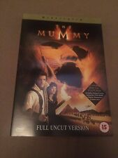 The Mummy (DVD, 2000) full uncut version, brendan fraser, region 2 uk dvd