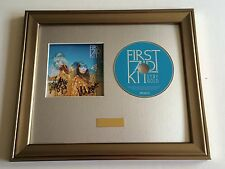 PERSONALLY SIGNED/AUTOGRAPHED FIRST AID KIT - STAY GOLD CD FRAMED PRESENTATION