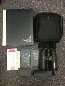 Swarovski SLC 10 x 42 HD Binoculars Green and Black Field Bag Pro - Brand New
