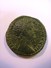 *~ 173 A.D. MARCUS AURELIUS Bronze AE 30 mm Sestertius of Rome, SECURITAS - 22 g